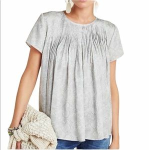 NWT Dolan Anthropologie Coast Snake print blouse